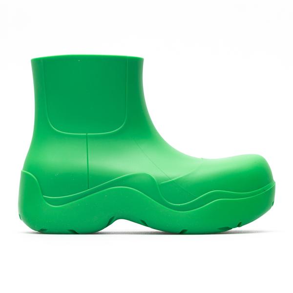 Stivaletti verdi in gomma                                                                                                                             Bottega Veneta 640045 back