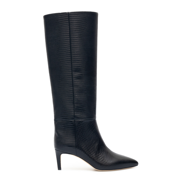 Black boots with low heel                                                                                                                             Paris Texas PX503 back