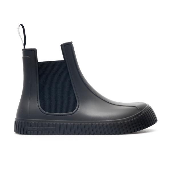 Rubber ankle boots                                                                                                                                    Emporio Armani X4M369 back