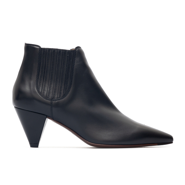 Black pointed ankle boots                                                                                                                             Tods XXW01H0ES30 back