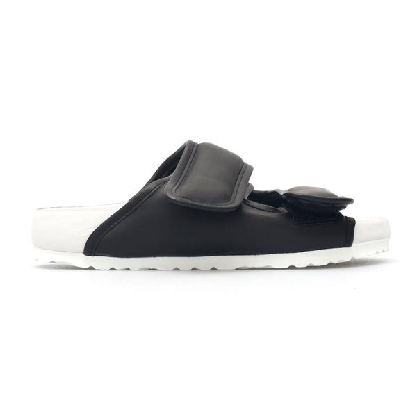 Black slippers in padded design                                                                                                                       Birkenstock X Csm 1020033 back