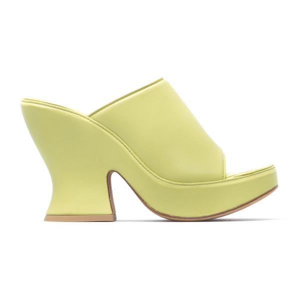 Light green leather mules                                                                                                                             Bottega Veneta 658979 back