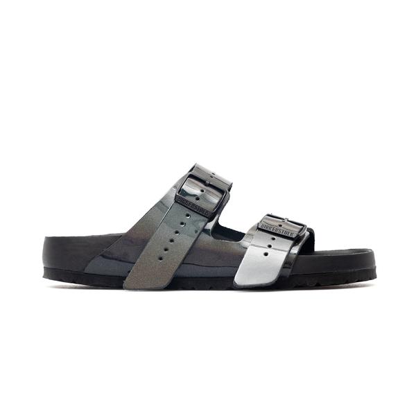 Sandali grigio scuro effetto riflettente                                                                                                              Rick Owens  X Birken BM21S6808 retro