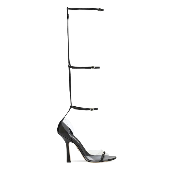 High sandals with straps                                                                                                                              Dsquared2 HSW0169 back