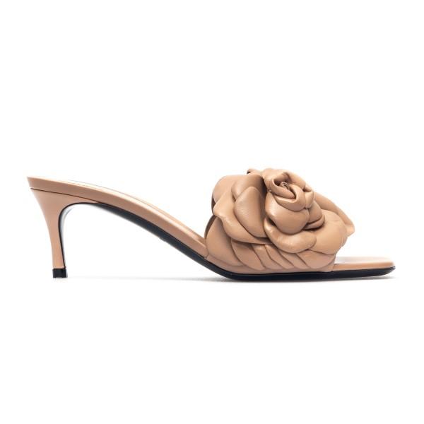 Ash pink sandals with rose petals                                                                                                                     Valentino Garavani VW2S0AU3 back