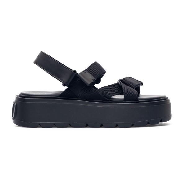 Sandali alti neri con logo sul retro                                                                                                                  Valentino Garavani VY2S0E09 retro