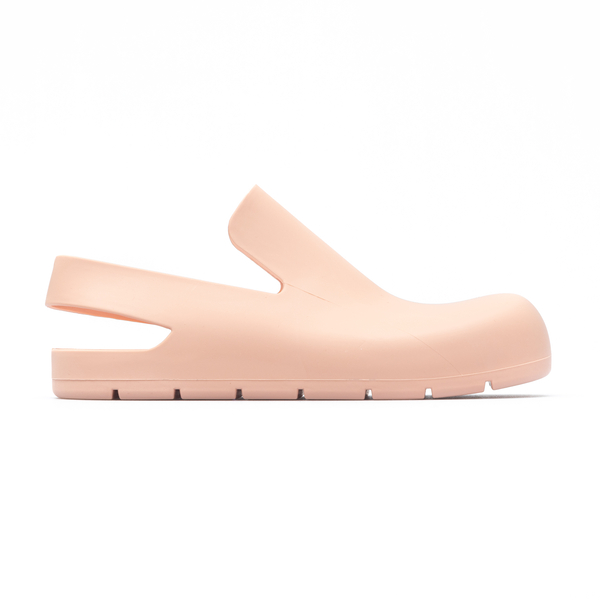 Pink rubber sandals with round toe                                                                                                                    Bottega Veneta 661269 back