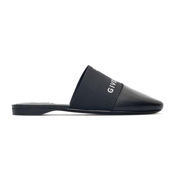 Mules neri con logo                                                                                                                                   Givenchy BE2012 retro