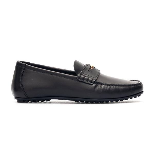 Black loafers with gold Medusa                                                                                                                        Versace DSU7564 back