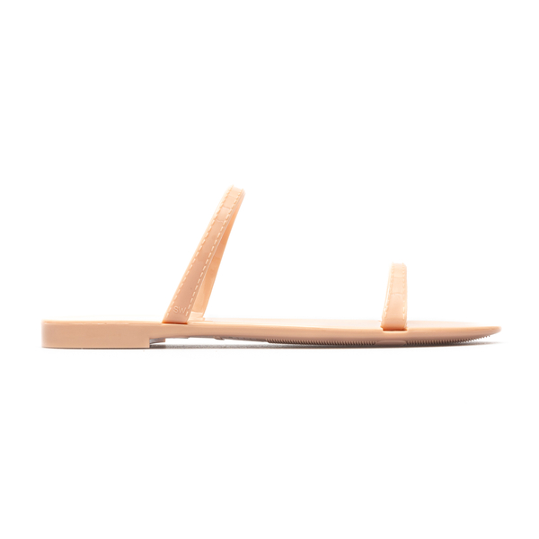 Pink rubber sandals                                                                                                                                   Stuart Weitzman S0820 back