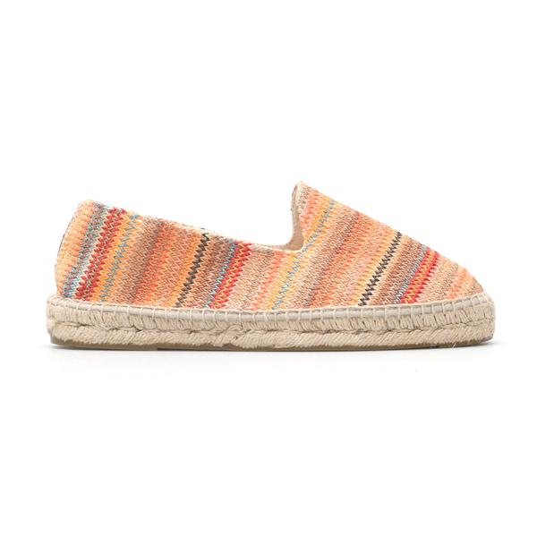 Multicolored striped espadrilles                                                                                                                      Manebi U03C0 back