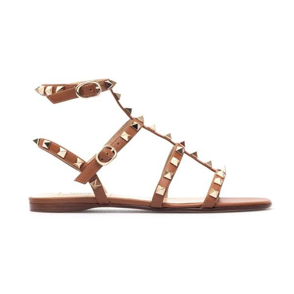 Brown sandals with studs                                                                                                                              Valentino Garavani VW2S0A05 back
