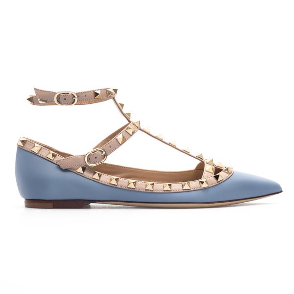 Light blue sandals with studs                                                                                                                         Valentino Garavani WW2S0376 back