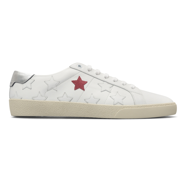 Low sneakers with stars                                                                                                                               Saint Laurent 421572 back