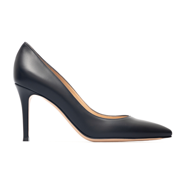 Pointed black pumps                                                                                                                                   Gianvito Rossi G24580 back