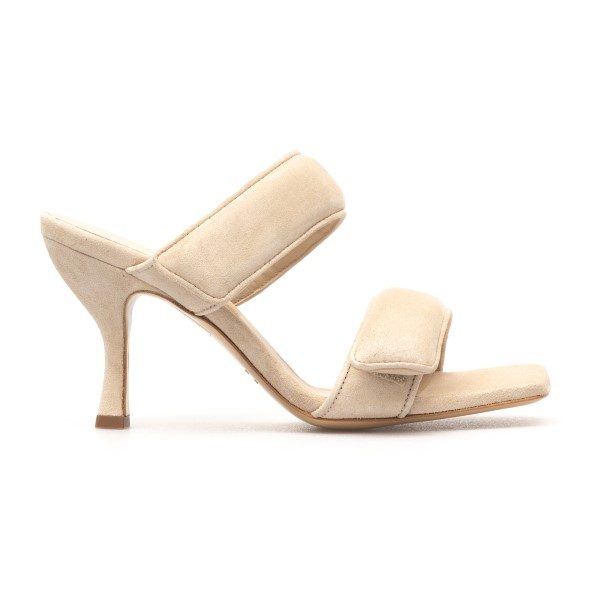 Beige sandals with strap bands                                                                                                                        Gia Couture PERNI03 back