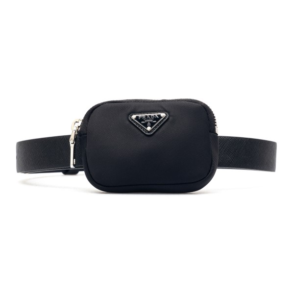 Black belt with pouch                                                                                                                                 Prada 1CM237 back