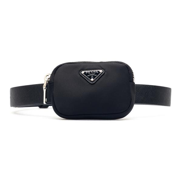 Black belt with pouch                                                                                                                                 Prada 1CM237 back