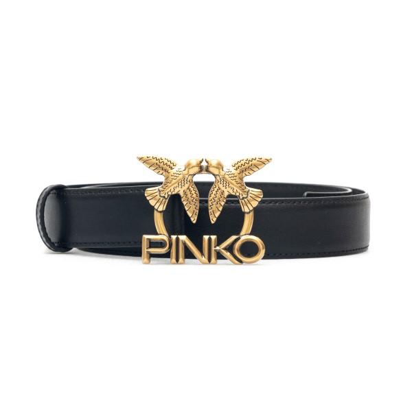 Black belt with gold logo                                                                                                                             Pinko 1H20X2 back