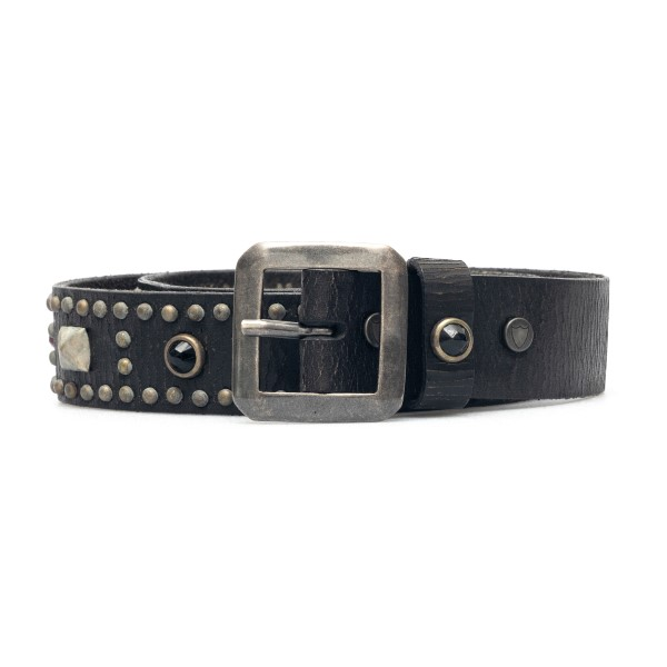 Cintura nera con applicazioni                                                                                                                         Htc Los Angeles 21WHTCI013 retro