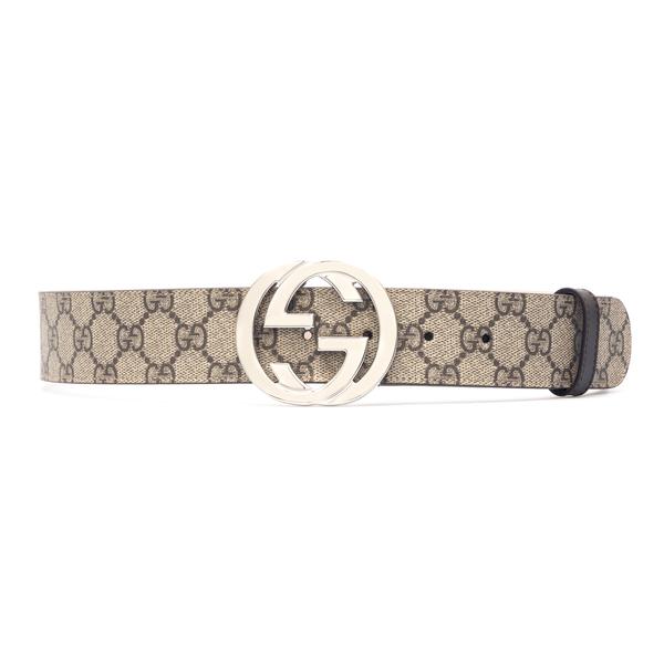 Cintura beige con logo                                                                                                                                Gucci 411924 retro