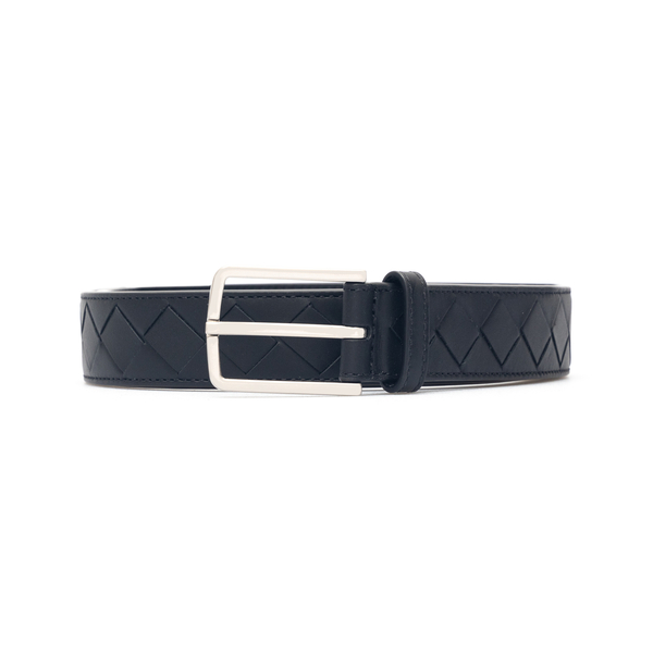 Cintura nera intrecciata                                                                                                                              Bottega Veneta 609181 retro