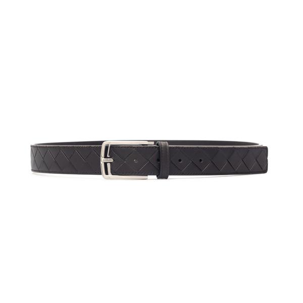 Brown belt in braided design                                                                                                                          Bottega Veneta                                     609181 back