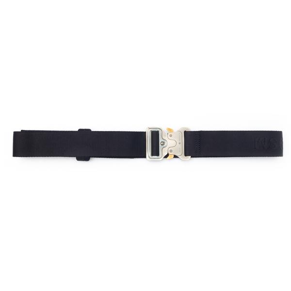 Black belt with metal buckle                                                                                                                          Alyx AAUBT0001FA03 back