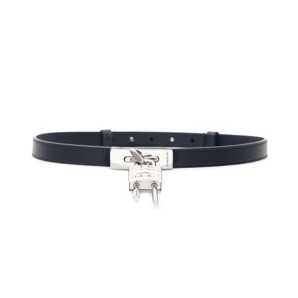 Black belt with padlock                                                                                                                               Givenchy BB406P back