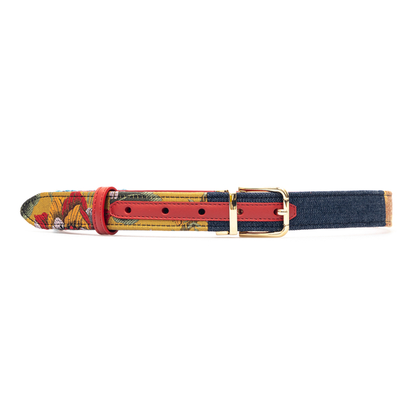 Multicolored patterned belt                                                                                                                           Dolce&gabbana BE1351 front