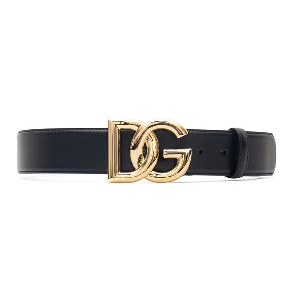 Black belt with gold DG logo                                                                                                                          Dolce&gabbana BE1446 back