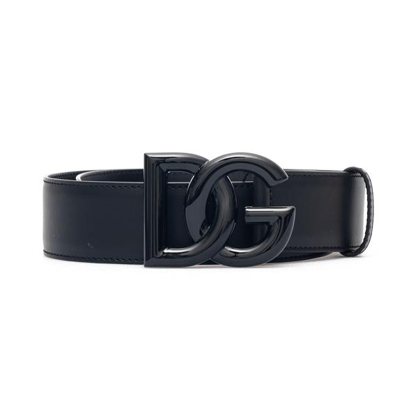Black belt with tonal logo                                                                                                                            Dolce&gabbana BE1446 back
