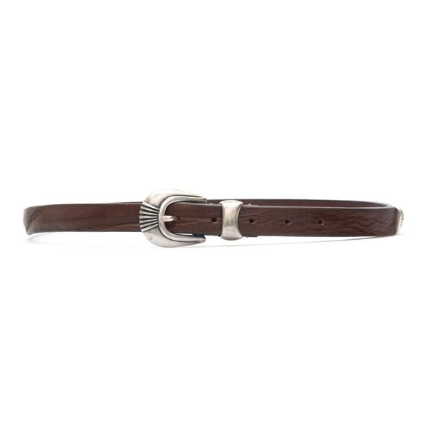 Cintura marrone con fibbia argentata                                                                                                                  Tagliatore CU03 retro