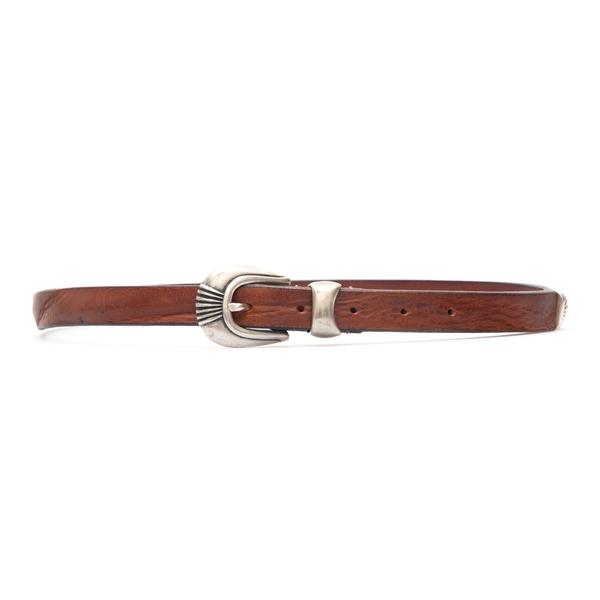 Cintura sottile marrone                                                                                                                               Tagliatore CU03 retro