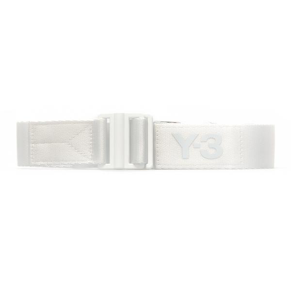 White belt with logo                                                                                                                                  Y3 HA6546 back