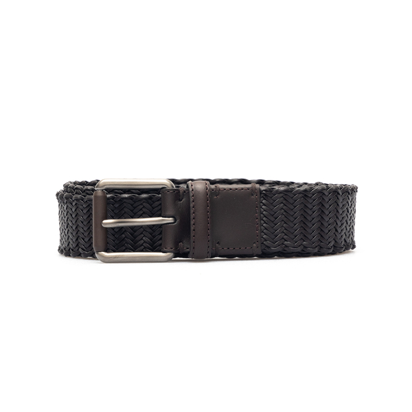 Black braided belt                                                                                                                                    Zegna J1113E back
