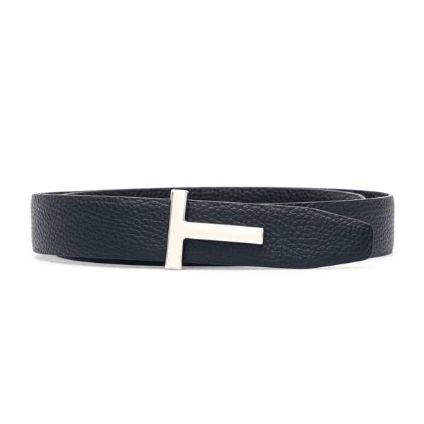 Cintura nera con fibbia a T                                                                                                                           Tom Ford TB178P retro