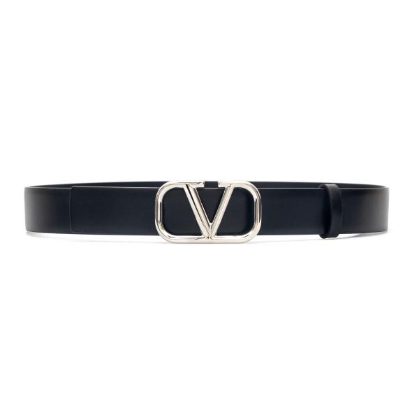 Cintura nera con logo V                                                                                                                               Valentino Garavani VY2T0Q90 back