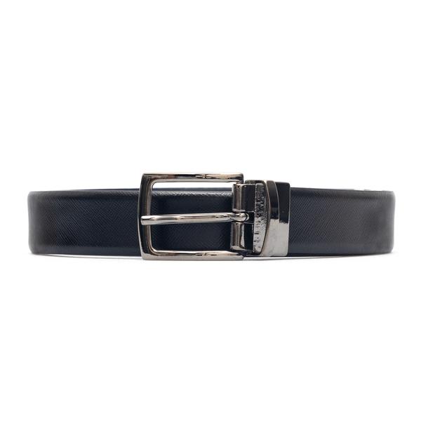 Black knurled belt                                                                                                                                    Emporio Armani Y4S444 back