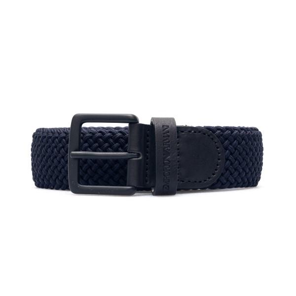 Blue braided belt                                                                                                                                     Emporio Armani Y4S450 back