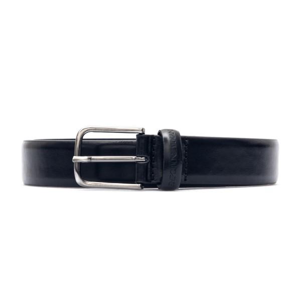 Glossy black belt                                                                                                                                     Emporio Armani Y4S454 back