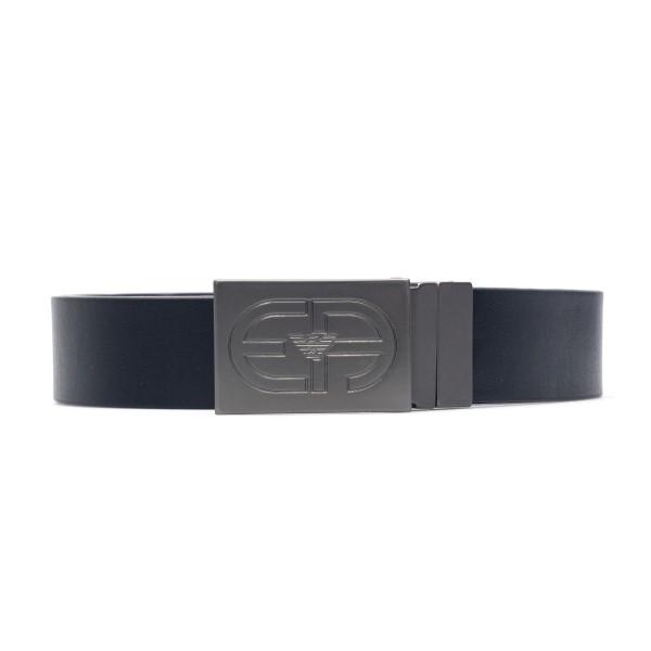 Black belt with swivel buckle                                                                                                                         Emporio Armani Y4S457 back