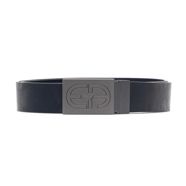 Black belt with logo buckle                                                                                                                           Emporio Armani Y4S480 back