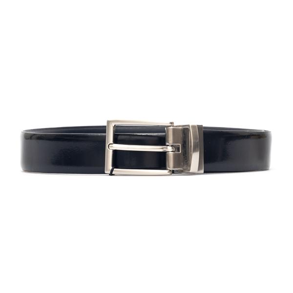 Belt in glossy black                                                                                                                                  Emporio Armani Y4S484 back