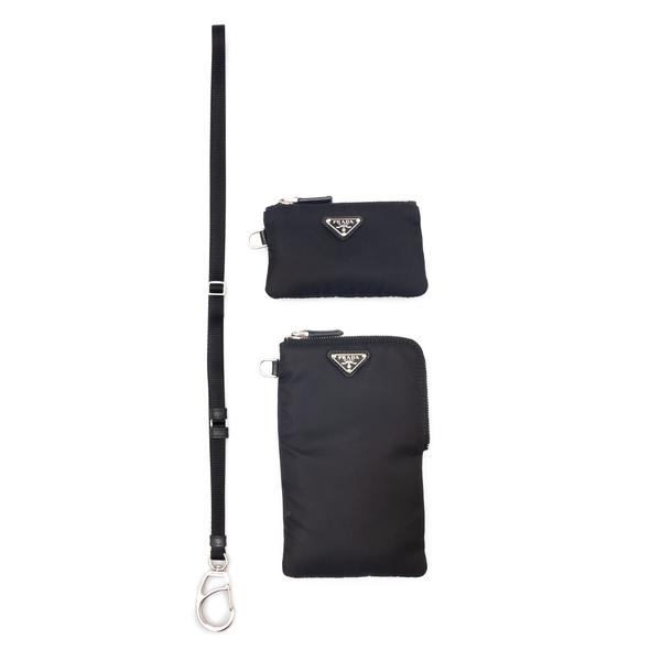 Double pouch with logo                                                                                                                                Prada 2TT091 back