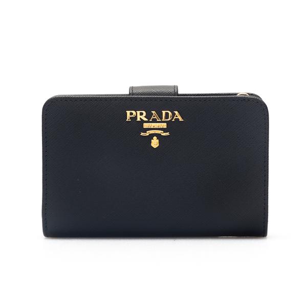 Portafoglio piccolo con bottone                                                                                                                       Prada 1ML225 retro