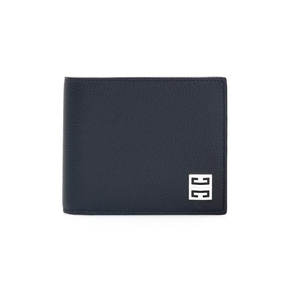 Portafoglio nero con logo metallico                                                                                                                   Givenchy BK6090 retro