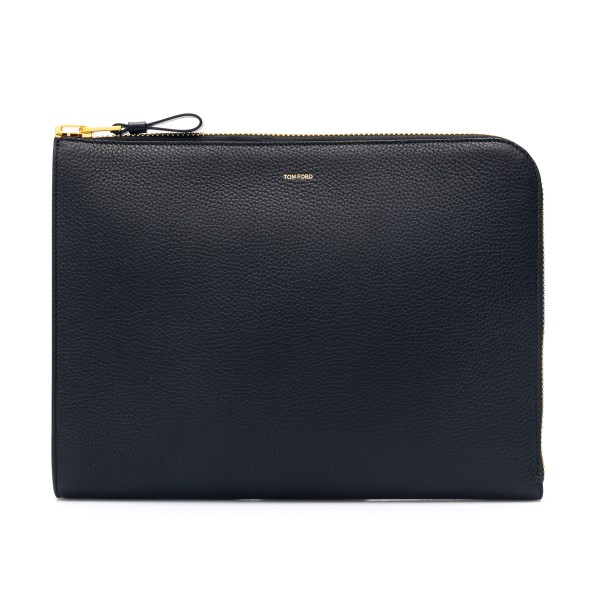 Black document holder with logo                                                                                                                       Tom ford H0355T front