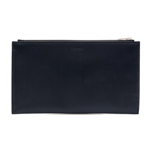 Portafoglio nero con zip                                                                                                                              Jil Sander JSMS840072 retro