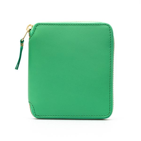 Portafoglio verde con zip                                                                                                                             Comme Des Garcons Play SA2100 retro